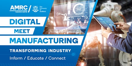 Digital Meet Manufacturing - Artificial Intelligence for Manufacturing tickets