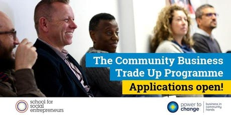 The Community Business Trade Up Programme 2020 tickets