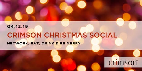 Crimson Christmas Social tickets