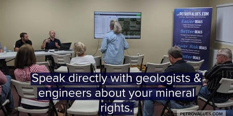 Free Mineral Rights Educational Meeting tickets