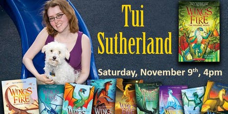 Tui Sutherland Overflow tickets