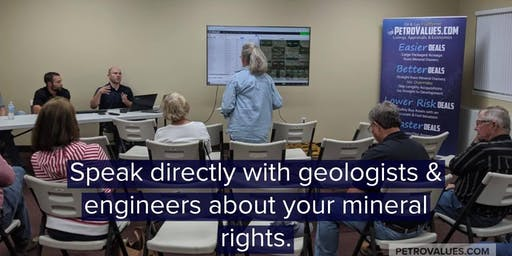 Free Mineral Rights Educational Meeting
