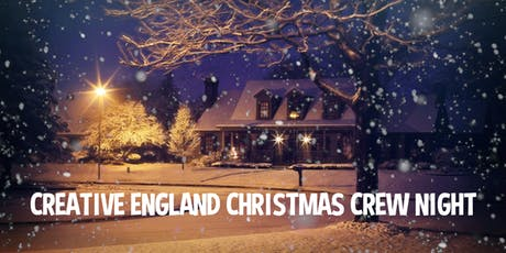 Creative England's crew networking evening tickets