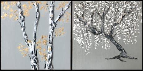 Mixed Media Tree Painting  tickets