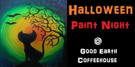 Halloween Paint Night @ Good Earth Coffeehouse! tickets