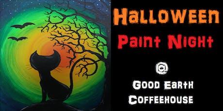 Halloween Paint Night @ Good Earth Coffeehouse! tickets
