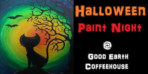 Halloween Paint Night @ Good Earth Coffeehouse!