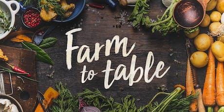 Farm to Table Shabbat tickets