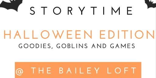 Storytime Halloween Edition