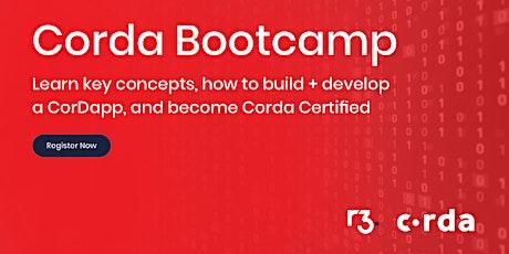 Corda Blockchain Bootcamp Tel-Aviv tickets