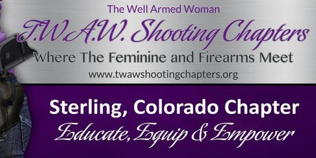 TWAW STERLING CHAPTER MEETING OCTOBER 19, 2019 tickets