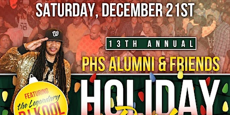 The 13th Annual PHS Alumni & Friends Holiday Party tickets