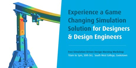 Simsolid: Free Simulation/FEA-Driven Design Morning Workshop tickets