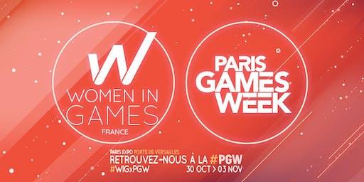 Women in Games France : Rencontre-Networking Paris Game Week 2019