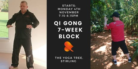Qi Gong: 7-Week Block: Individual Sessions - Stirling tickets