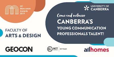 University of Canberra Marketing Communications Awards 2019