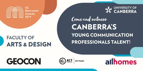 University of Canberra Marketing Communications Awards 2019 tickets