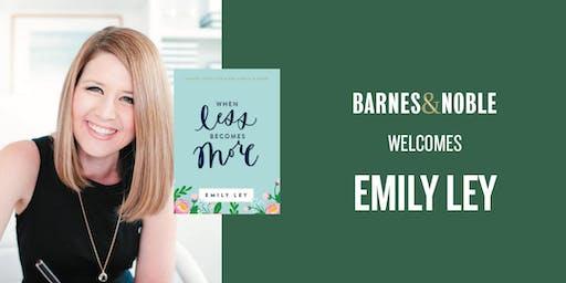 Emily Ley at Barnes & Noble Charleston, SC