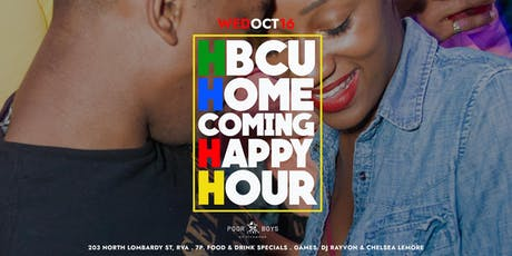 The HBCU Homecoming Happy Hour at Poor Boys tickets