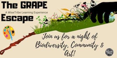 The Grape Escape, an interactive evening for Fun & Philanthropy