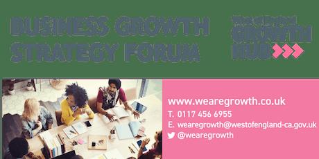 West of England Growth Hub Strategy Forum tickets
