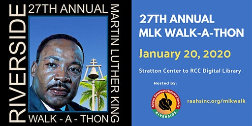 27th Annual Dr. Martin Luther King Jr. Walk-A-Thon
