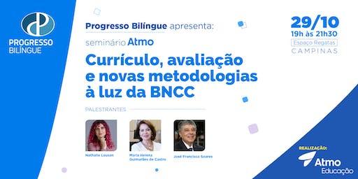 Currículo, avaliação e novas metodologias à luz da BNCC
