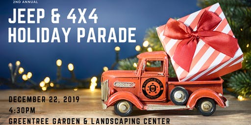 2nd Annual Jeep & 4x4 Holiday Parade