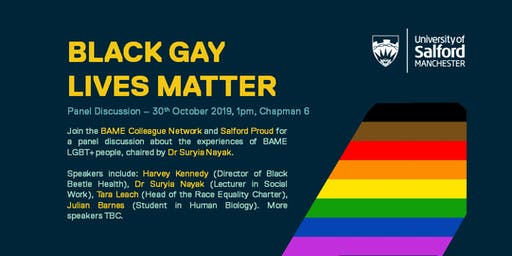 """""""Black Gay Lives Matter"""" - Panel Discussion"""