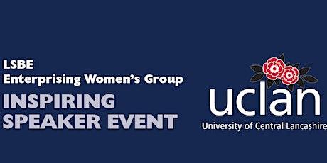 LSBE Enterprising Women's Group – Inspiring Speaker Event tickets