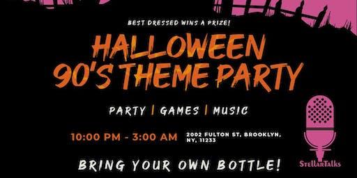 StellarTalks Halloween 90's Theme Party