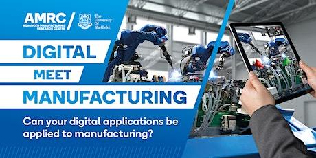Digital Meet Manufacturing - Automation & Robotics tickets