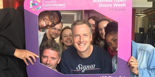 Croydon Commitment Business Open Door Month - Mott MacDonald