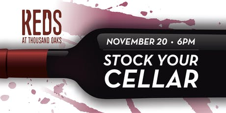 Stock Your Cellar at Reds tickets