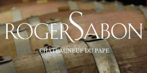 EXCLUSIVE TASTING with Didier Negron of Domaine Roger Sabon