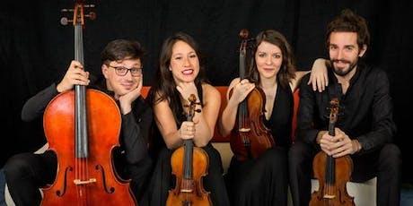Capolavori per quartetto d'archi: Beethhoven Rachmaninov Grieg biglietti