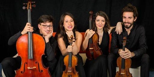 Capolavori per quartetto d'archi: Beethhoven Rachmaninov Grieg