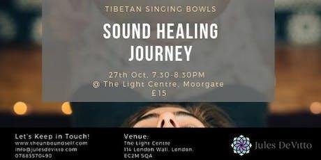 Sound Healing Journey tickets