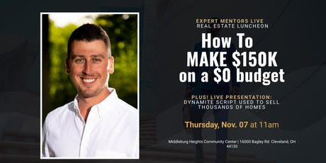 EXPERT MENTORS LIVE- MIDDLEBURG HEIGHTS tickets