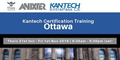 Ottawa Kantech CE Certification - Anixter tickets