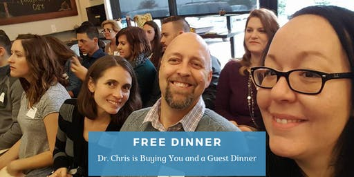 Cause is the CURE | FREE Dinner Event with Dr. Chris Bennett, DC