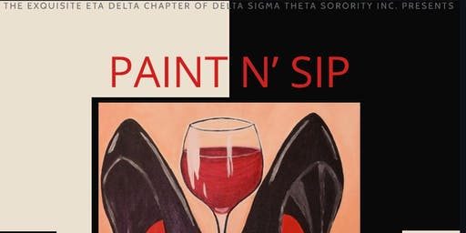 Paint N' Sip ( $7.13 CASH ENTRY FEE)