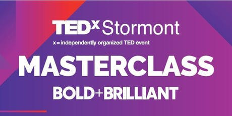 TEDxStormont Women  BOLD+BRILLIANT Masterclass tickets