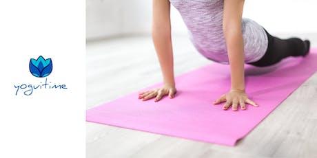Clase de Introducción al Yoga entradas