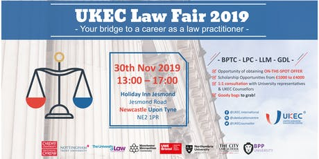 UKEC Law Fair 2019 - Newcastle tickets