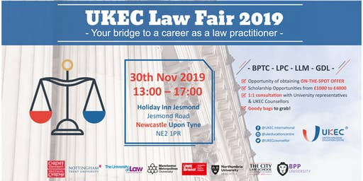 UKEC Law Fair 2019 - Newcastle
