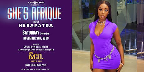 SHE'S AFRIQUE   THE 2ND ANNUAL EVENT tickets