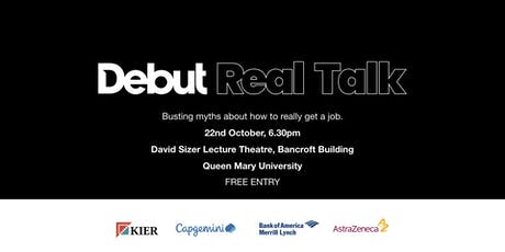 Debut Real Talk tickets