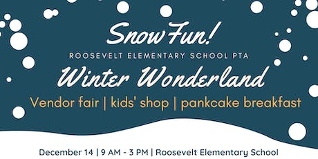 Roosevelt Elementary PTA presents Winter Wonderland Market and pancake breakfast tickets