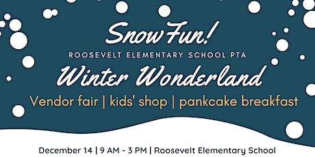 Roosevelt Elementary PTA presents Winter Wonderland Market and pancake breakfast tickets